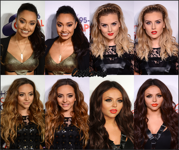 08/11/13 Little Mix ont fait une performance au Capital FM Jingle Bell Ball à l'O2 Arena.     Little Me - DNA - Wings - Interview