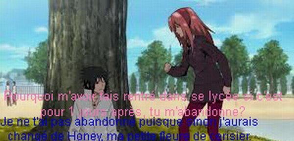 SasuSaku: Chapitre 2: Premier jour en tant que Honey