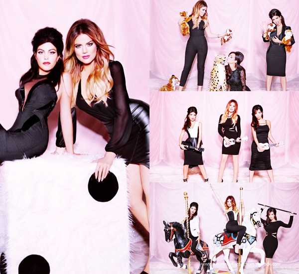 Kardashian Kollection : Découvrez quelques photos de Kourtney issues du photoshoot pour la Kardashian Kollection réalisé par Ellen von Unwerth.