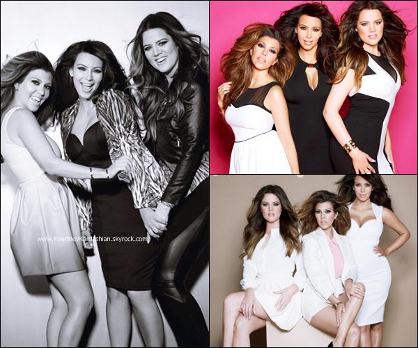 Fabulous Magazine : Découvrez ci-dessous un photoshoot des soeurs Kardashian pour le magazine Fabulous réalisé par Kayt Jones en 2013.