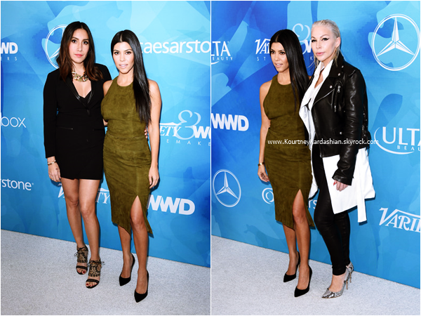 19/11/2015 : Kourtney assistant au WWD and Variety's Stylemakers Event à Culver City.