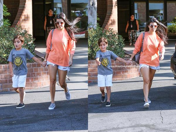 19/06/2016 : Kourtney, Scott et leurs enfants au zoo de Santa Barbara.