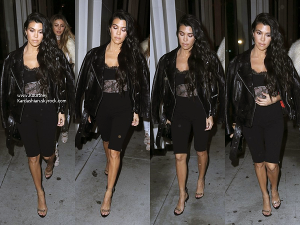 30/03/2017 : Kourtney et Larsa Pippen quittant un studio à Culver City.