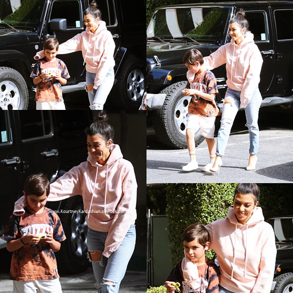 15/05/2017 : Kourtney quittant l'institut Epione à Beverly Hills
