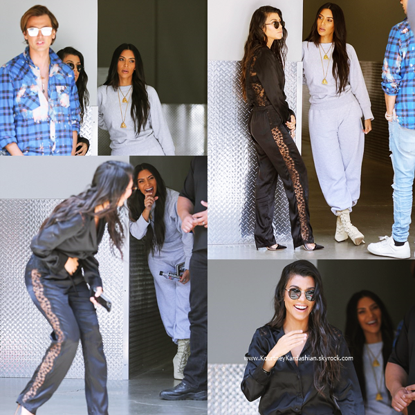 01/06/2017 : Kourtney et sa fille Penelope faisant du shopping à West Hollywood