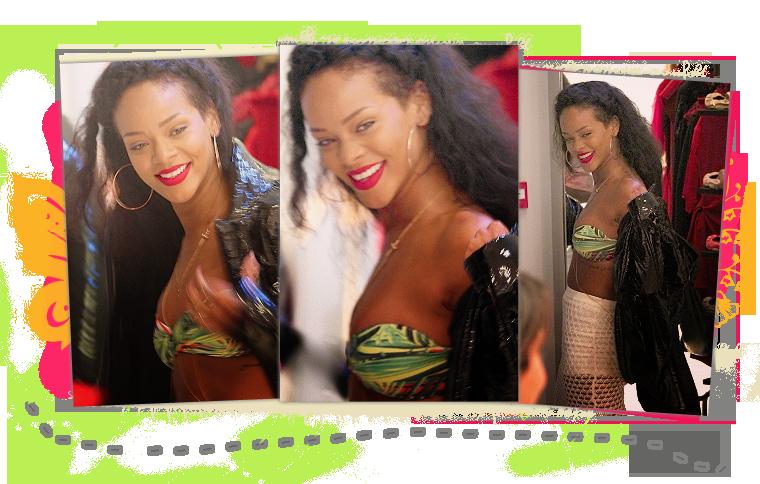 Rihanna à St-Tropez!
