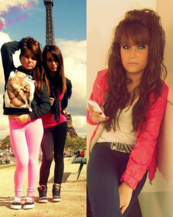Vielle photo de moi Brune <3