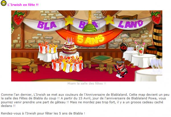 Blablaland, 5 ans de jeu