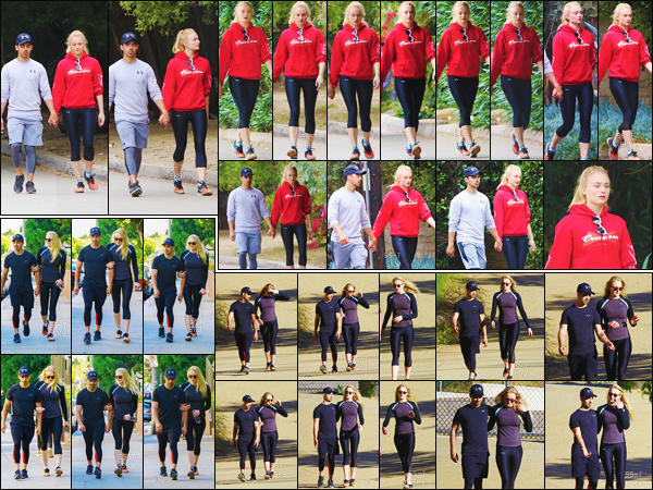 09/06/17 : Sophie et Joe ont été vus marchant dans Studio City puis dans Runyon Canyon Park  So' et Joe étaient motivés à faire du sport ce jour-là. Miss Turner est sortie dans deux tenues de sport que je trouve pas exceptionnelles.