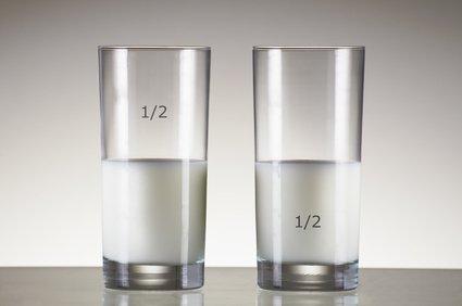 Le verre à moitié plein ou à vide ?