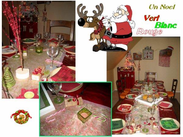 Un Noel ROUGE VERT BLANC          Noel 2013