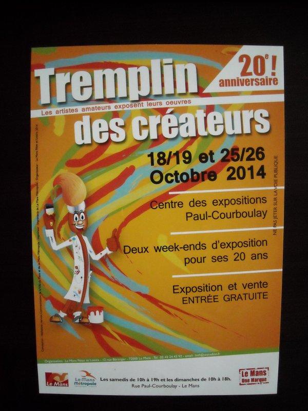 """Préparatifs du """" TREMPLIN des CREATEURS 2014 """""""