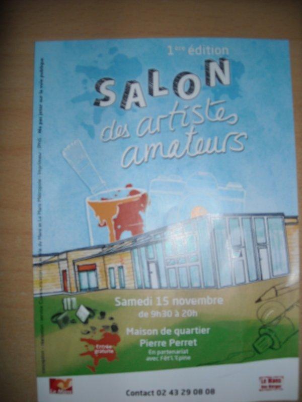 Exposition  vente   SALON des Artistes Amateurs
