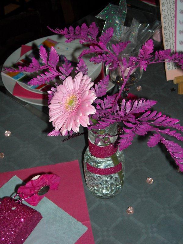 Préparations d'un  Anniversaire Surprise                       18 Ans  ANAIS          Art Florale