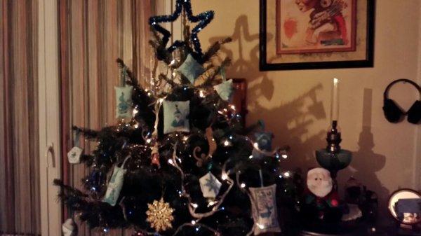 Mon Sapin de Noël fait !!!