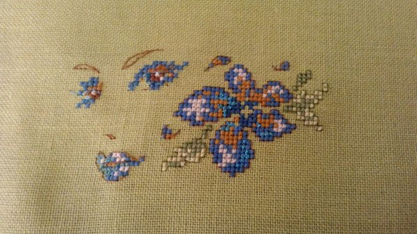 Trousse PATCHWORK Broderie