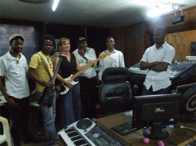 Au studio chez Maestro Sousy Kaseya