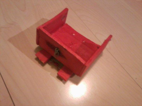 Caisson porté pour Mini tracteur fait Maison