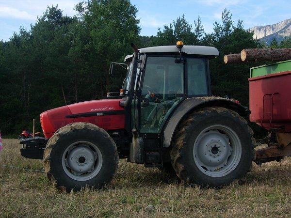 Foire MENGLON ( 26 ) - Same EXPLORER3 100 + Benne  - 28 Aout 2011