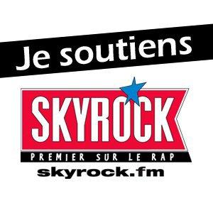 SINIK SOUTIENT SKYROCK... RDV SUR LA PAGE