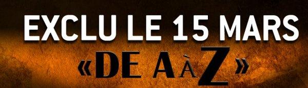 PROCHAIN ALBUM 21 MAI - EXCLU LE 15 MARS 2012