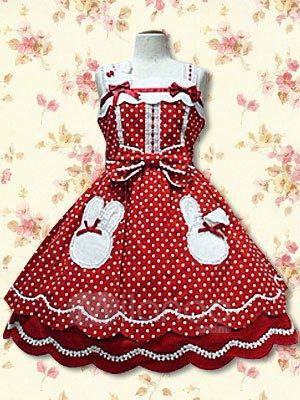 Ma deuxième robe Lolita !!!^^Et tout se qui va avec !.
