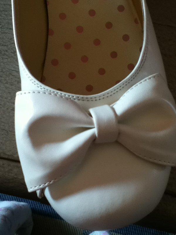 Mes chaussures qu'i sont arrivées aujourd'hui !