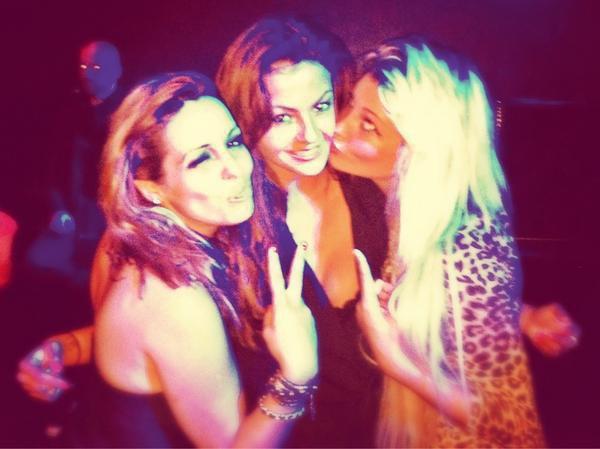Priscilla,Julia& moi