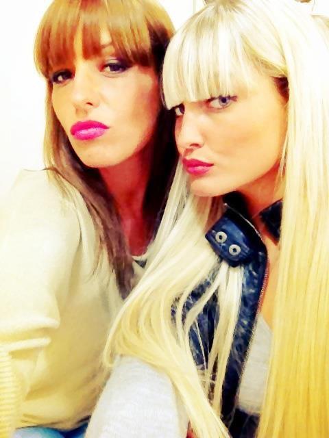 moi et  Priscillia Lya.