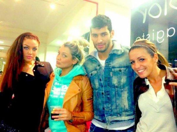 avec Léa,Samir, Priscilla et moi <3