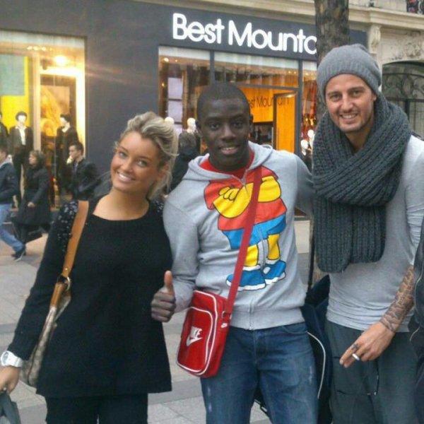 Avec Geof et un fan