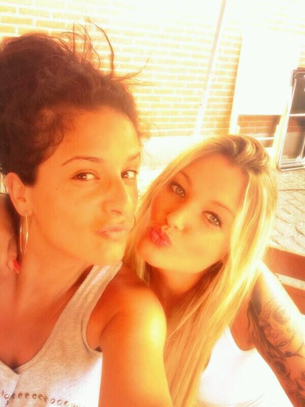 Avec Fabienne