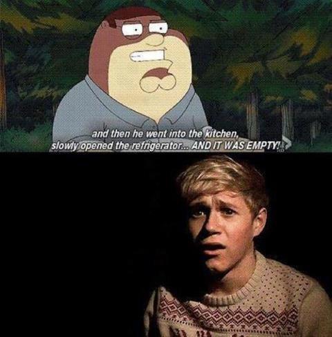 ~L'histoire la plus épouvantable pour Niall O.o ~