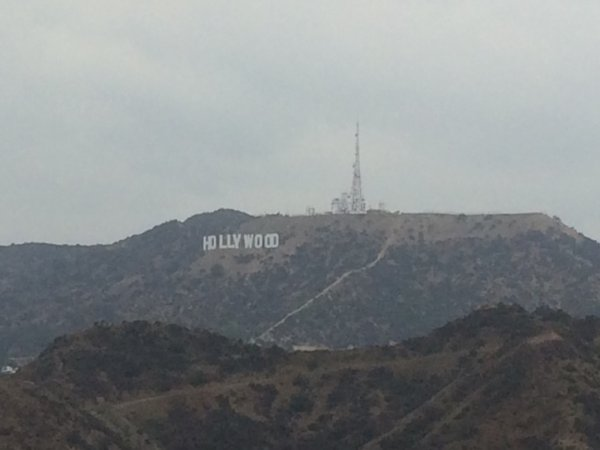 Des nuages a Los Angeles!.!.!