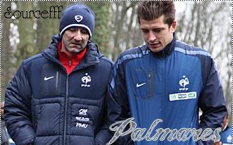 Palmares de L'equipe de France