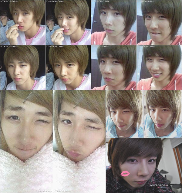 24.04.11|Quelques photos des membres de Block B (Jae Hyo pré-début, Selca) (+) Photos de nos X-5!