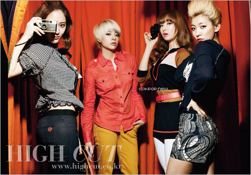 "25.04.11|Les f (x) se transforment en ""Uptown Girls"" pour High Cut!"