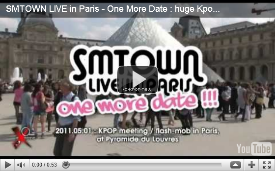 02.05.11|SM Entertainment reconsidère une éventuelle date pour un second concert à Paris!