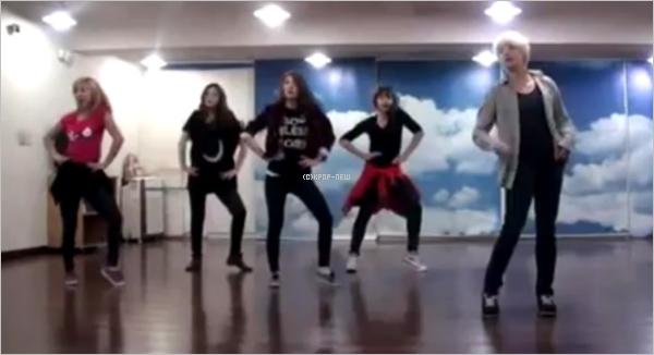 29.04.11|Les f (x) remercient leurs fans pour le premier prix sur Music Bank!