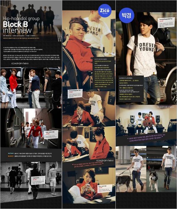 01.05.11|Scans d'un magazine (?) de nos Block B : Zico, Kyung & P.O