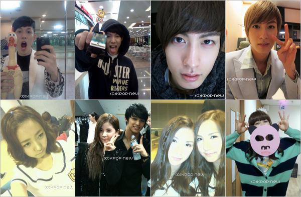 02.05.11|Banque photos des groupes X-5, Block B & A-Pink (+ photos pré-début)