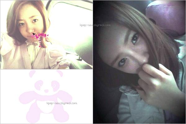 -Découvrez les quelques photos individuelles des Block B ci-dessous | Alors? Déjà un chouchou? -B-Bomb & Kyung postent des photos personnelles sur leur twitter respectif -Photos personnelles de Nam Joo & Bomi (+) le Pink Panda, fanclub officiel des A-Pink! -Les X-5 pour un photoshoot (?)
