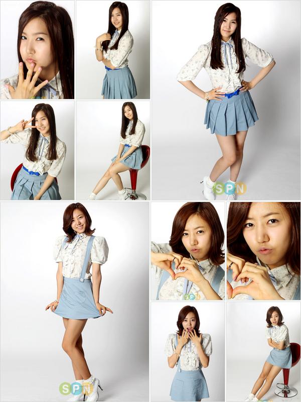 Les A-Pink posent individuellement | Autographes : ChoRong, BoMi, EunJi, YooKyung, NamJoo, NaEun & HaYoung.