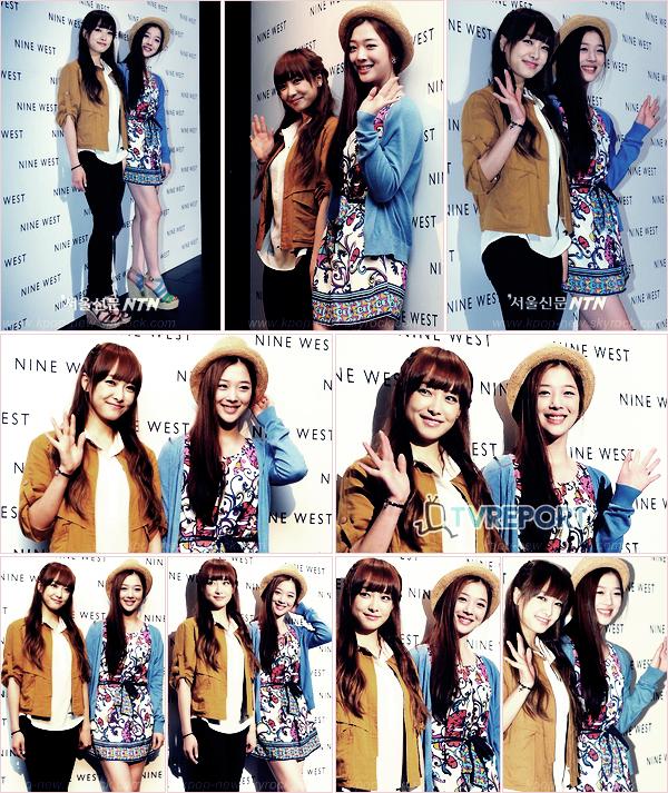 Victoria et Sulli au 10ème Anniversaire Launch  de 'NINE WEST' - G.NA & l'actrice Cha YeRyun étaient aussi présentes