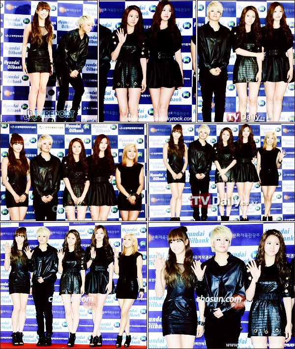 Les f (x), IU et Rainbow étaient présentes au Dream Concert 2011, photos du passage au Red Carpet (+ vidéo)
