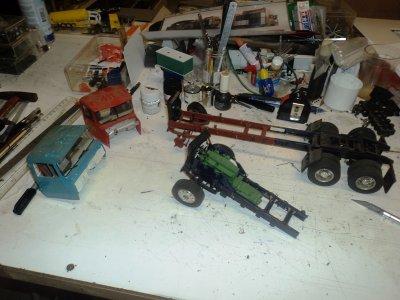 les trucks custom au 1/24