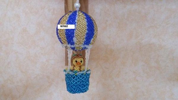canard en montgolfière modèle élises 0610
