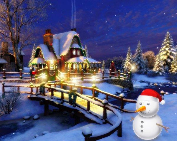 Joyeux Noel  à tous les lecteurs de mon blog