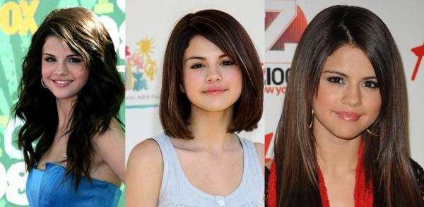 Évolution de notre chère Selena...