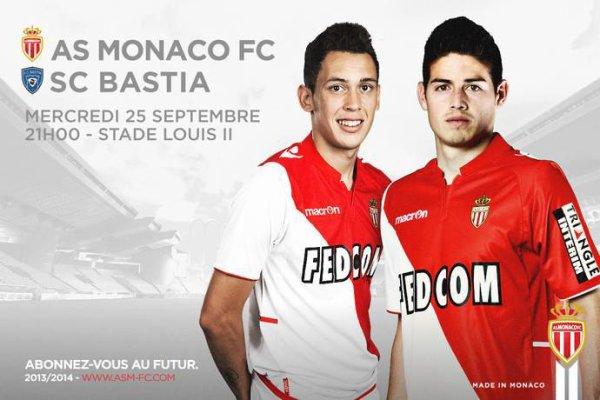 Monaco 3 - 0 Bastia